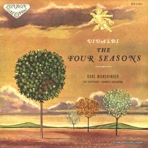 カール・ミュンヒンガー - ヴィヴァルディ:「四季」作品8の1−4 - SLX3-19-1