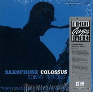 ソニー・ロリンズ - saxophone colossus - OJC-291