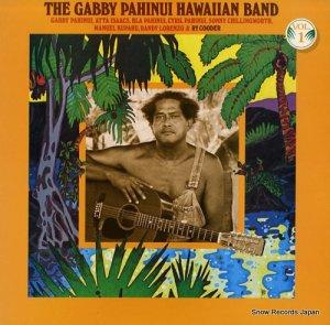 ギャビー・パヒヌイ・ハワイアン・バンド - the gabby pahinui hawaiian band vol.1 - P-10582W