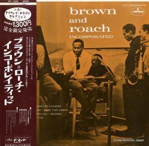 クリフォード・ブラウン&マックス・ローチ - ブラウン=ローチ・インコーポレイティッド - BT-1328