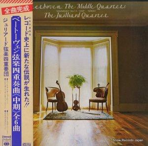 ジュリアード弦楽四重奏団 - ベートーヴェン:弦楽四重奏曲「中期」全6曲 - SOCZ-360-362