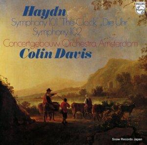 コリン・デイヴィス - ハイドン:交響曲第101番「時計」、第102番 - 25PC-73