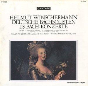 ヘルムート・ヴィンシャーマン - バッハ:協奏曲集 - OQ-7038-KT
