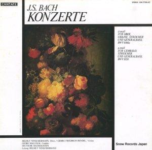 ヘルムート・ヴィンシャーマン - バッハ:オーボエ、ヴァイオリンのための二重協奏曲ニ短調 - OW-7786-KT