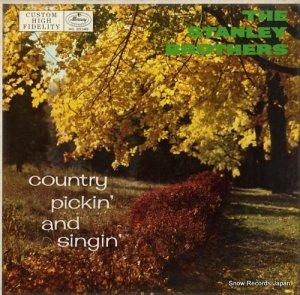 ザ・スタンレー・ブラザーズ - country pickin' and singin' - MG20349