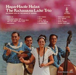 カハウアヌ・レイク・トリオ - hapa-haole hulas - HS515