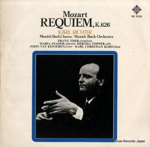 カール・リヒター - モーツァルト:死者のためのミサ曲、k.626 - SR5109