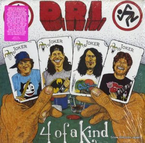 D.R.I. - four of a kind - D1-73304
