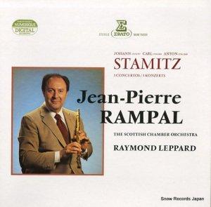 ジャン=ピエール・ランパル - stamitz; 3 concertos - NUM75039