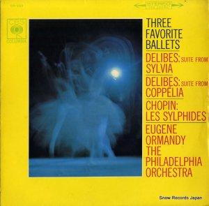 ユージン・オーマンディ - ドリーブ:バレエ組曲「シルヴィア」「コッペリア」 - OS-333