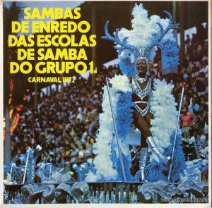 V/A - sambas de enredo das escolas de samba do grupo 1 - 85.050