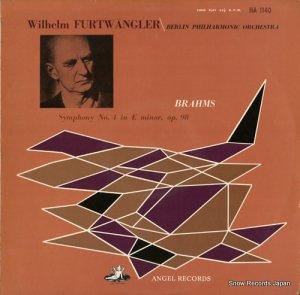 ヴィルヘルム・フルトヴェングラー - ブラームス:交響曲第4番ホ短調作品98 - HA1140