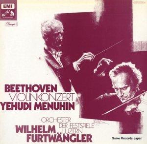 ユーディ・メニューイン - beethoven; violinkonzert - 1C027-01570M