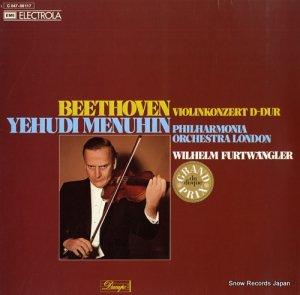 ユーディ・メニューイン - beethoven; violinkonzert d-dur - 1C047-00117
