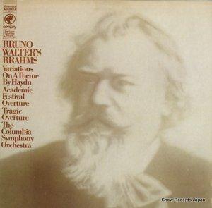 ブルーノ・ワルター - brahms; variations on a theme by haydn - Y30851