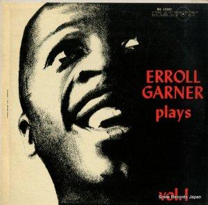 エロール・ガーナー - erroll garner plays vol.1 - MG12002