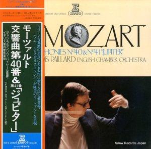 ジャン=フランソワ・パイヤール - モーツァルト:交響曲第40番&第41番「ジュピター」 - ERX-2388