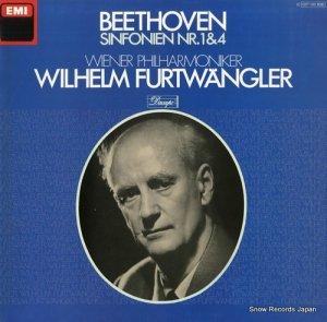 ヴィルヘルム・フルトヴェングラー - beethoven; sinfonien nr.1 & 4 - 1C027-00806