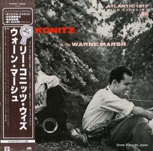 リー・コニッツ - リー・コニッツ・ウィズ・ウォーン・マーシュ - P-4549A