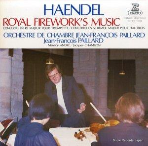 ジャン=フランソワ・パイヤール - ヘンデル:王宮の花火の音楽 - E-1008