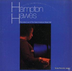 ハンプトン・ホーズ - recorded live at the great american music hall - CJ-222