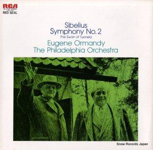 ユージン・オーマンディ - シベリウス:交響曲第2番ニ長調作品43 - SX-2754