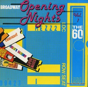 V/A - broadway opening nights vol.1 the '60s - ARL1-4049