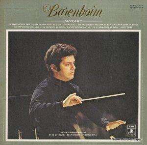 ダニエル・バレンボイム - モーツァルト:交響曲集 - EAA-93111B