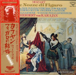 ヘルベルト・フォン・カラヤン - モーツァルト:歌劇「フィガロの結婚」 - SLD7001-4