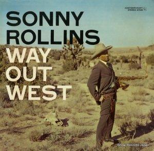 ソニー・ロリンズ - way out west - S7530
