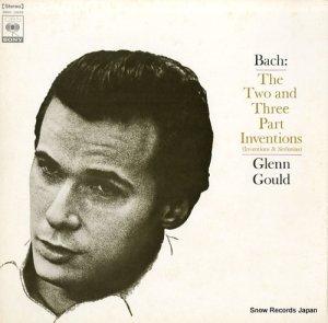 グレン・グールド - バッハ:インヴェンションとシンフォニア - SONC10049