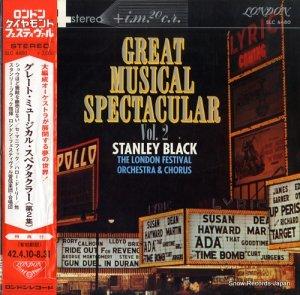 スタンリー・ブラック - グレート・ミュージカル・スペクタクラー第2集 - SLC4480
