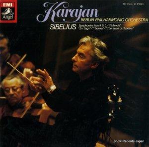 ヘルベルト・フォン・カラヤン - シベリウス:交響曲第4番&第5番 - EAC-47226-27
