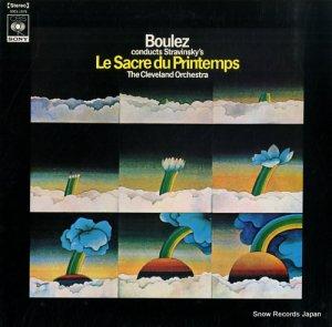 ピエール・ブーレーズ - ストラヴィンスキー:バレエ音楽「春の祭典」 - SOCL1076