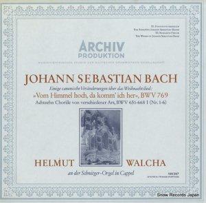 ヘルムート・ヴァルヒャ - バッハ:「高き御空よりわれは来ぬ」によるカノン風変奏曲 - 198397