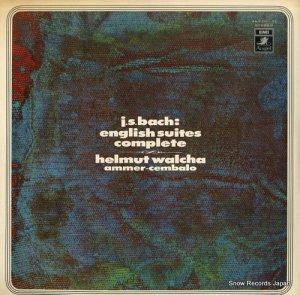 ヘルムート・ヴァルヒャ - バッハ:イギリス組曲(全6曲) - AA-8391-92