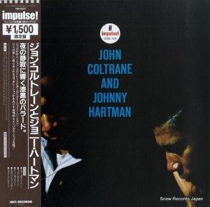 ジョン・コルトレーンとジョニー・ハートマン - john coltrane and johnny hartman - VIM-5637