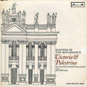 ジョン・マッカーシー - masters of the renaissance / victoria & palestrina - SOL283