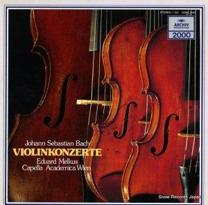 エドゥアルト・メルクス - バッハ:ヴァイオリン協奏曲第1番・2番 - 20MA0061