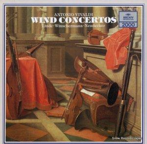 リンデ/ヴィンシャーマン/ノイデッカー - ヴィヴァルディ:管楽器のための協奏曲集 - 20MA0068