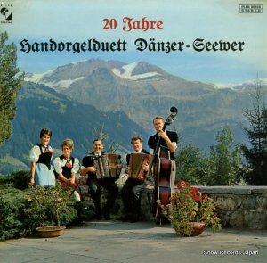 HANDORGELDUETT DANZER-SEEWER - 20 jahre - PLPS30133