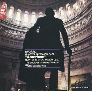 ブダペスト四重奏団 - ドヴォルザーク:弦楽四重奏曲「アメリカ」 - SOCO90