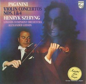ヘンリック・シェリング - paganini; violin concertos nos.1 & 4 - 9500069