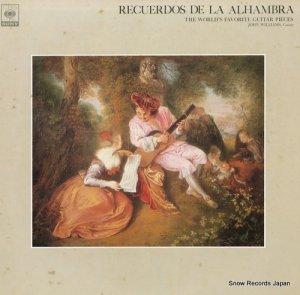 ジョン・ウィリアムス - アルハンブラ宮殿の思い出〜ギター名曲のすべて〜 - FCCA414