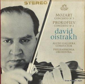 ダヴィド・オイストラフ - mozart; concerto no.3 - S35714