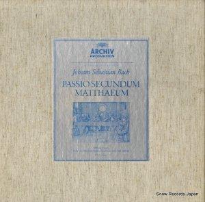 カール・リヒター - バッハ:マタイ受難曲 - 2712001 / 198009/12