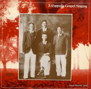 V/A - a cappella gospel singing - FL9045