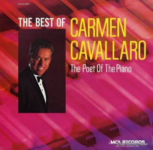 カーメン・キャバレロ - the best of carmen cavallaro - MCA2-4056