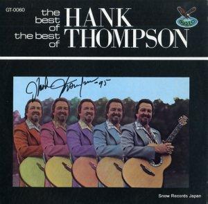 ハンク・トンプスン - the best of the best of hank thompson - GT-0060