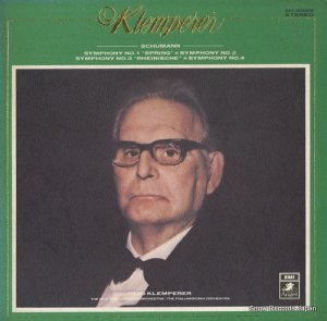 オットー・クレンペラー - シューマン:交響曲第1番変ロ長調「春」作品38 - EAA-93095B